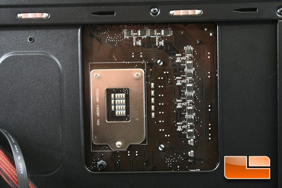 GS-6050 II CPU Cut Out Installed