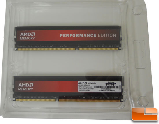 AMD Performance Memory
