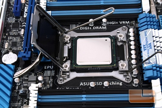 ASUS P9X79 Deluxe CPU Install
