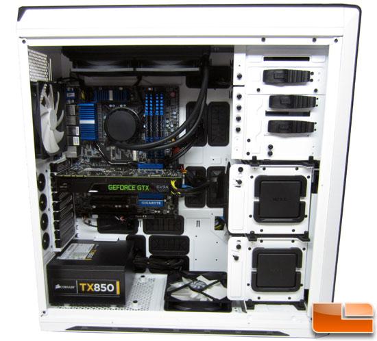 CyberPowerPC Zeus 2500 SE Inside