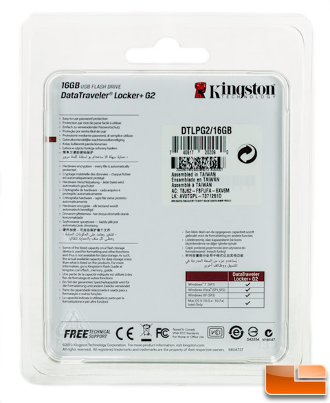 Kingston DataTraveler Locker+ G2 16GB