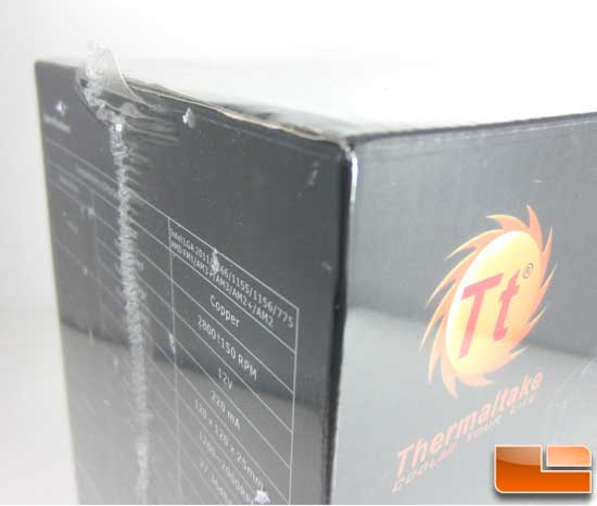Thermaltake Water2.0 Pro box comes wrapped in plastic