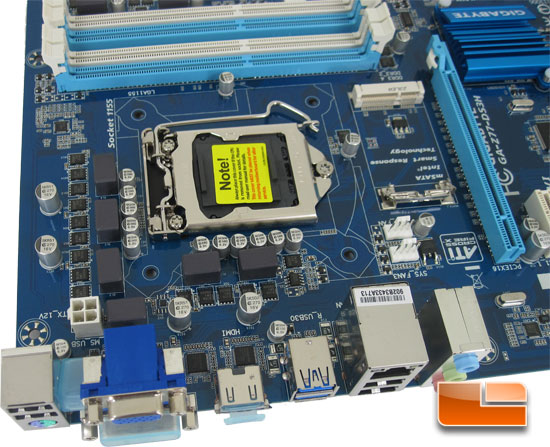 GIGABYTE Z77-DS3H Intel Z77 Motherboard Layout