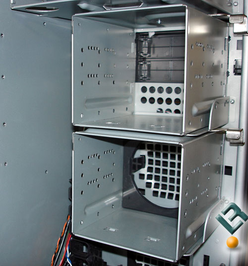 removable HDD cages