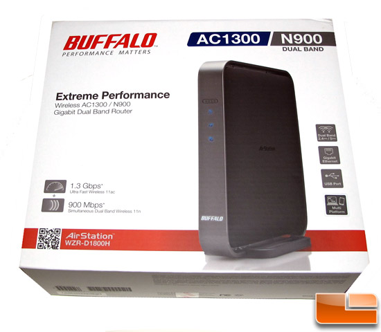 Buffalo Air Station AC1300 N900 802.11ac Wireless Router Review