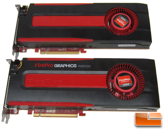 AMD FirePro W8000 and W9000