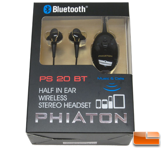 Phiaton PS 20 Bluetooth Wireless Headset