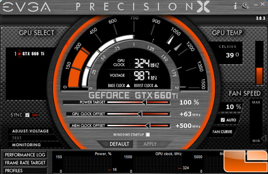 EVGA GeForce GTX 660 Ti Overclock