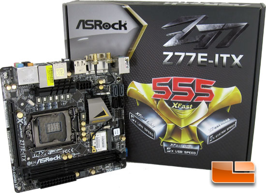 ASRock Z77E-ITX mITX Motherboard Review