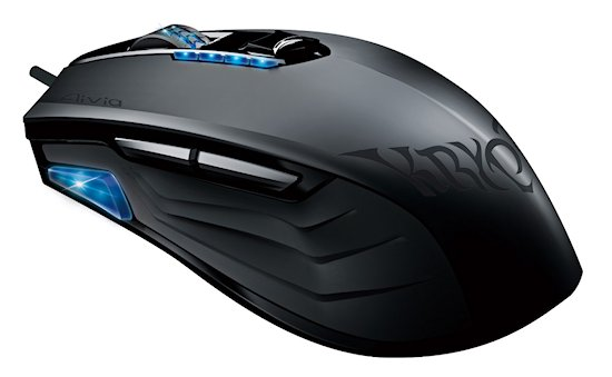Krypton Mouse Top Side