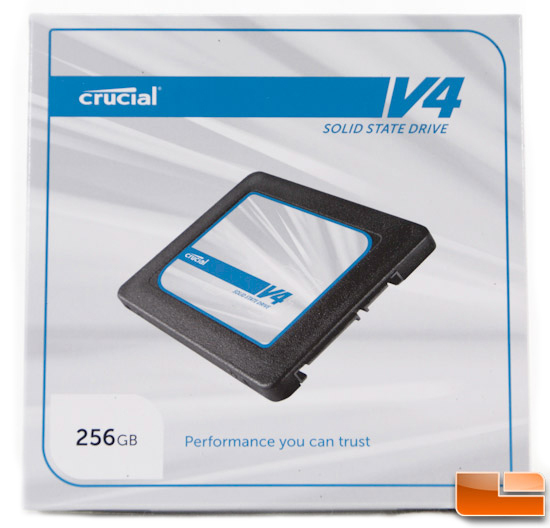 Crucial V4 256GB Box Front