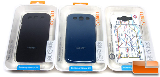 Cygnett Form, Frost & TubeMap Samsung Galaxy S III Case Reviews