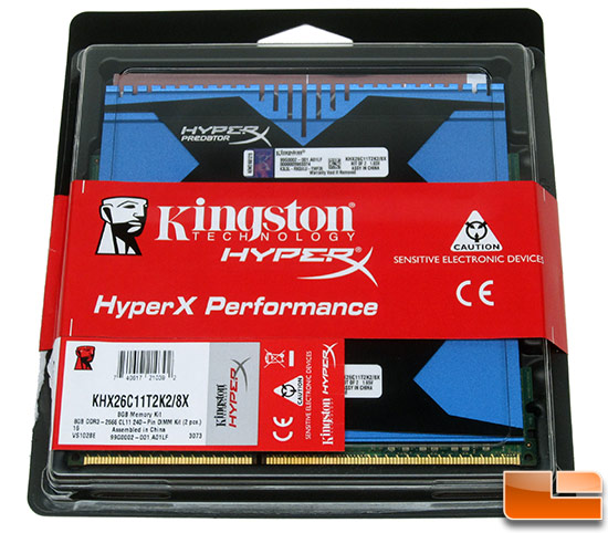Kingston HyperX Predator Memory Kit