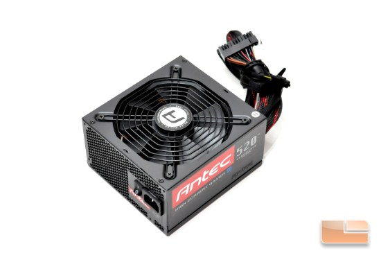 Antec High Current Gamer HCG-520M 520W Power Supply Review
