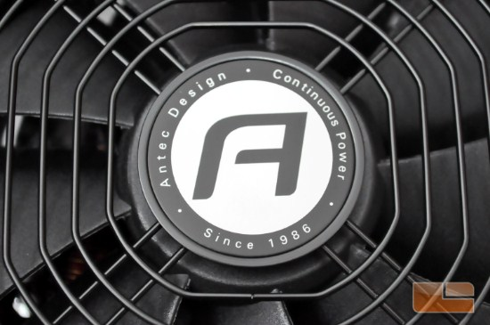 Antec PSU Fan Logo