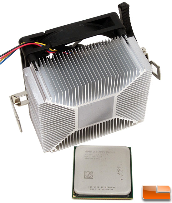 AMD A8-3870K CPU Cooler