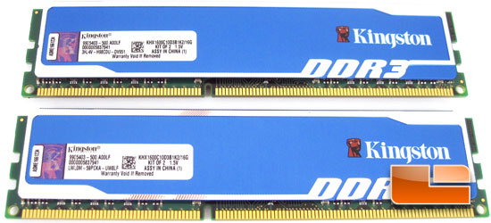Kingston 16Gb KHX1600C10D3B1K2/16G Memory Kit Review