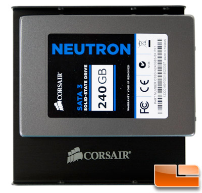 Corsair Neutron 240GB Adapter Plate