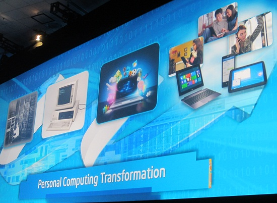 IDF 2012 Opening Keynote – Haswell, Windows 8 & More