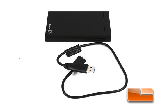 Seagate Back Up Plus HDD and USB 3 Cable