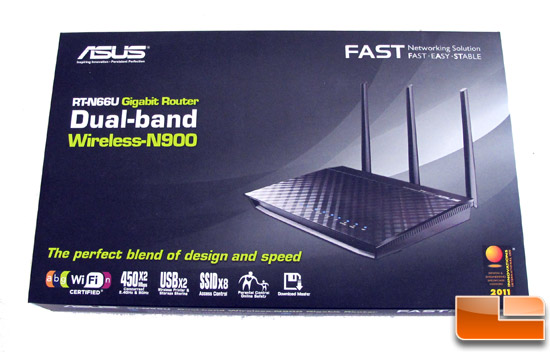 ASUS RT-N66U Dual-Band Wireless-N900 Gigabit Router Review