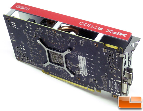 XFX R7850 CrossFire Connector