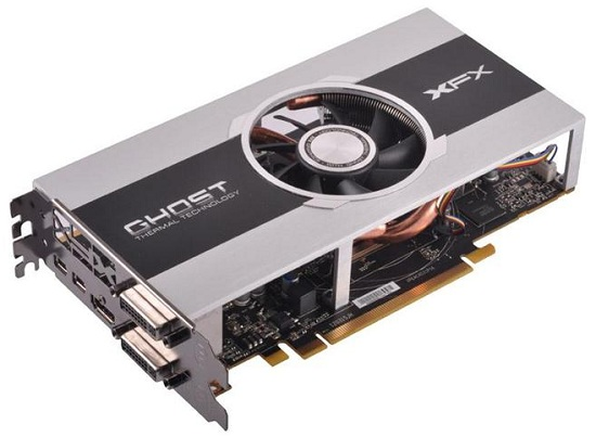 XFX Radeon HD 7850 1GB Core Video Card