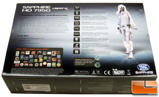 Sapphire HD7950 Vapor-X Card Retail Box