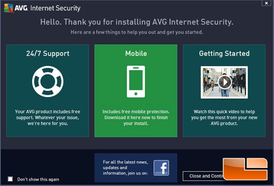 AVG Internet Security 2013 Intro