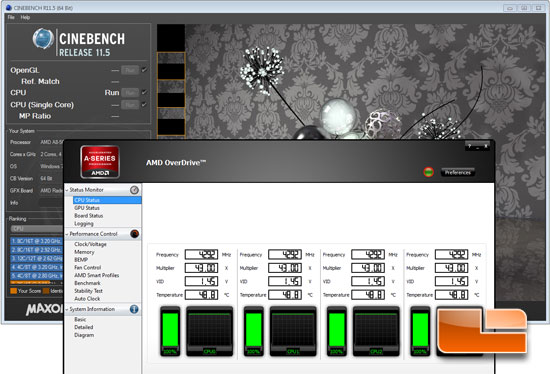 AMD A8-5600K Cinebench 4300MHz