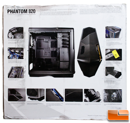 NZXT Phantom 820 box rear