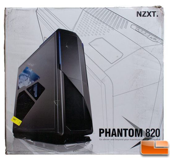 NZXT Phantom 820 box front