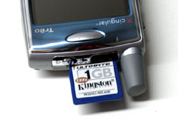 Kingston Ultimate SD Card - Treo 650