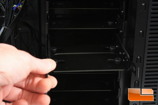 Deep Silence 1 HDD Carrier Removal