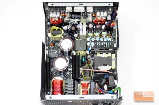 Inside the HCP-1000 Platinum unit