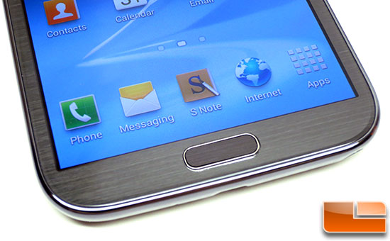 Samsung Galaxy Note II Home Button