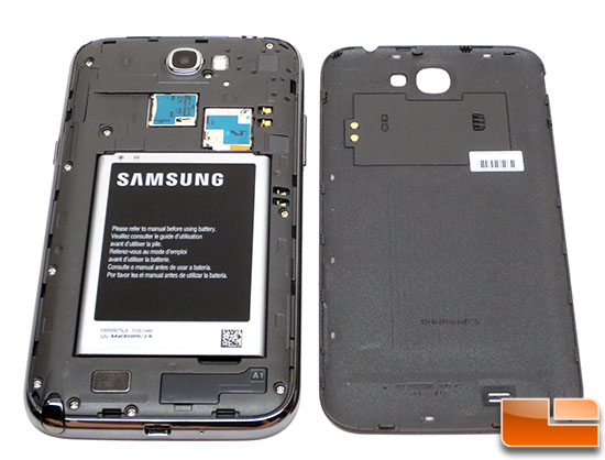 Samsung Galaxy Note II 3100mAh battery