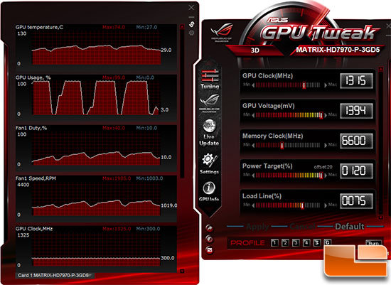 ASUS Matrix HD7970 Platinum Overclock