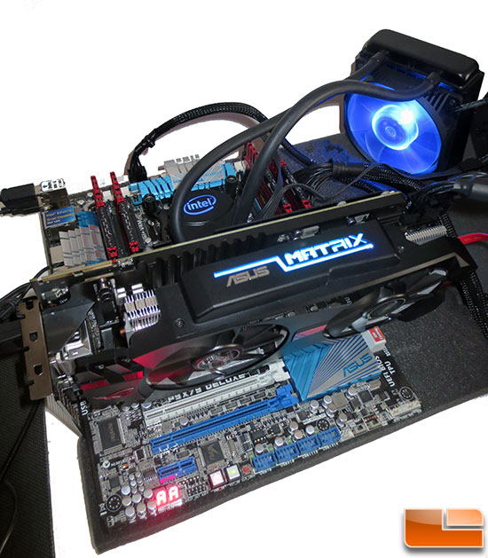 Intel LGA2011 Test System