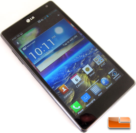 LG Optimus G Android Ice Cream Sandwich Smartphone
