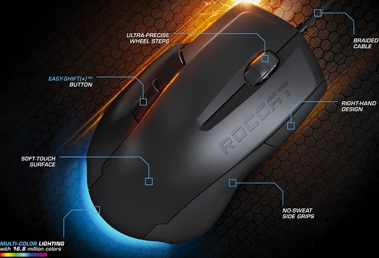 ROCCAT Savu Optical Gaming Mouse Review