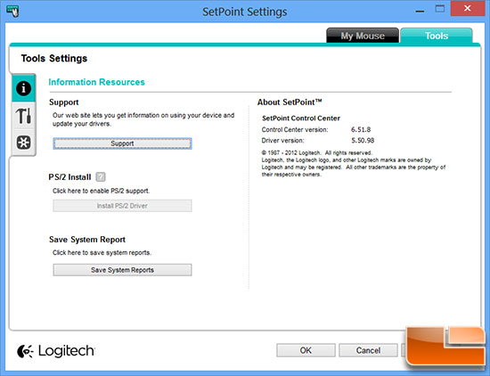 Logitech Setpoint Mouse Software