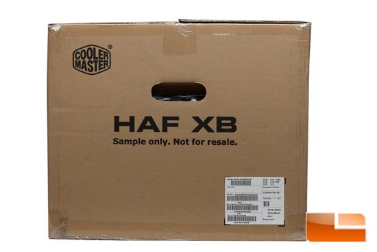 HAF XB Box Side
