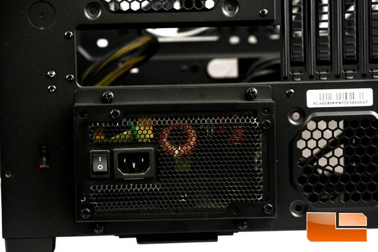 HAF XB PSU Mounted