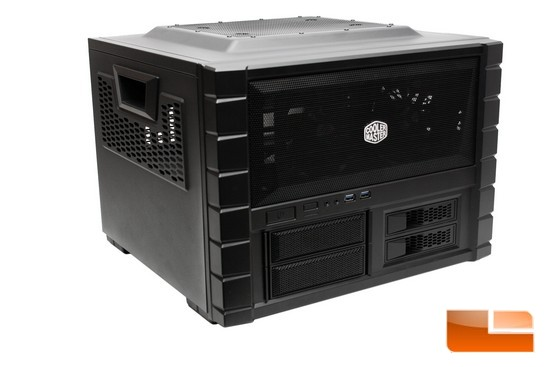 Cooler Master HAF XB Lan Box and Test Bench Case Review