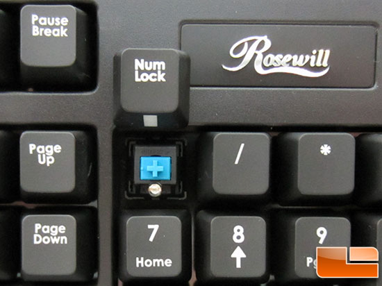 Rosewill RK9100 Illuminated Mechanical Keyboard