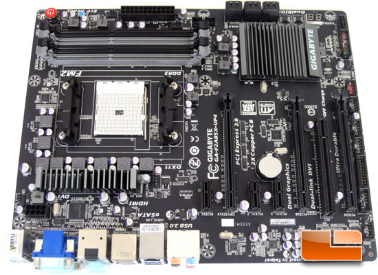 GIGABYTE F2A85X-UP4 Retail Packaging and Bundle