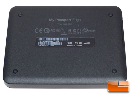 WD My Passport Edge Portable Hard Drive Bundle
