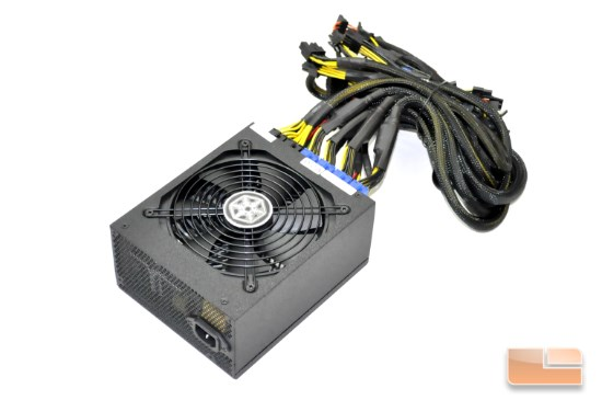 The Silverstone Strider Gold Evolution 750W PSU