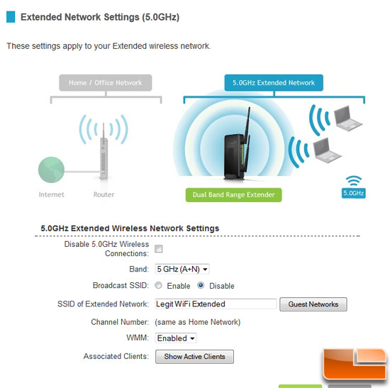 Amped Wireless SR20000G GUI